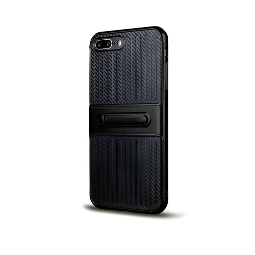 Traveler Hybrid Case with Kickstand for Samsung S7 Black