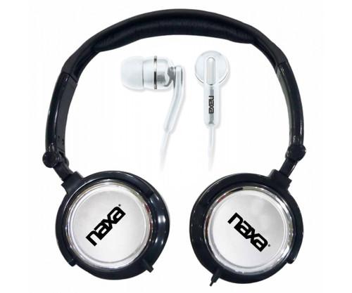 Naxa DJ Z Ultra headset combo kit BLACK
