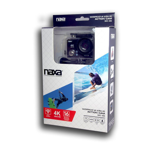 Naxa waterproof 4K ultra HD action cam