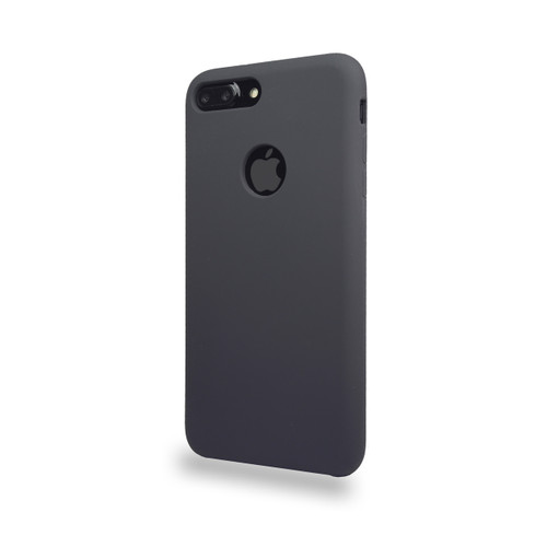 Liquid Silicone Deluxe Hard Skin for iPhone 7/8 Gray