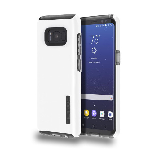 INCIPIO - DualPro Case for Samsung Galaxy S8  Iridescent White