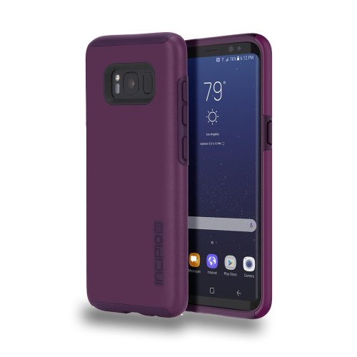 INCIPIO - DualPro Case for Samsung Galaxy S8  Plum