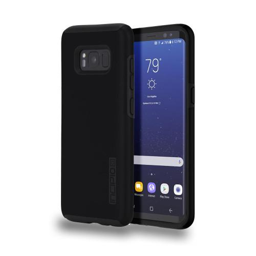 INCIPIO - DualPro Case for Samsung Galaxy 8 Plus Black/Black