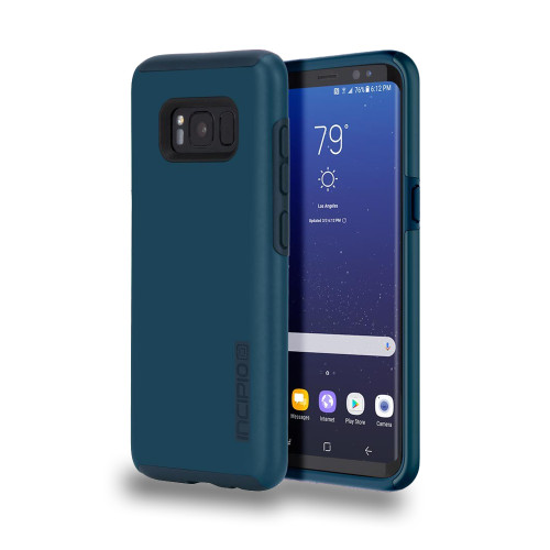 INCIPIO - DualPro Case for Samsung Galaxy 8 Plus Deep Navy