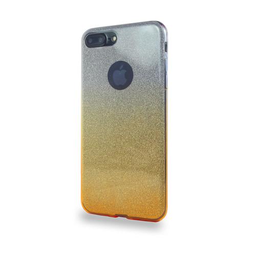 Glitter TPU Case for Samsung Galaxy J7 Gold