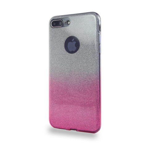 Glitter TPU Case for Samsung Galaxy J7 2016 Pink