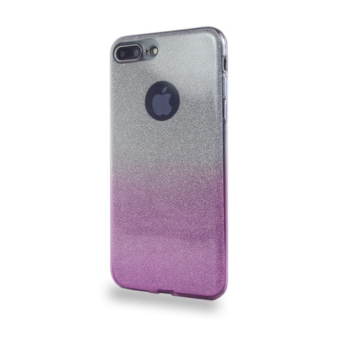 Glitter TPU Case for Samsung Galaxy J7 2016 Purple
