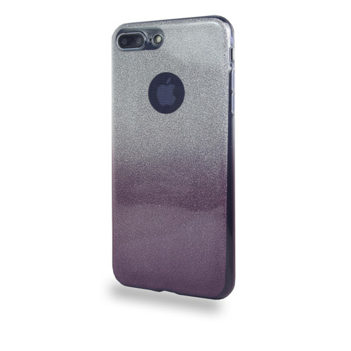 Glitter TPU Case for iPhone 7/8 Plus Burgundy