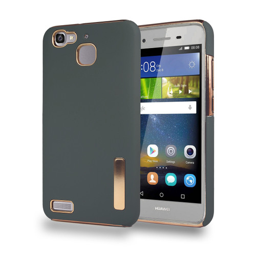 Stillvol Hybrid Case for Huawei GR3 Dark Gray and Gold