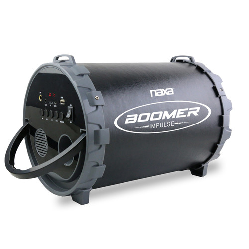 Naxa Boomer Impulse PA BluetoothBoombox with LED Lights