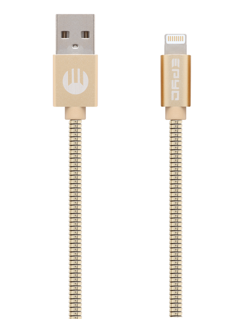 Epyc metal series usb to ligthning cable Gold