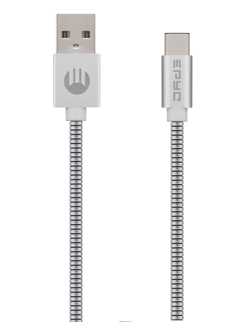 Epyc metal series usb to Type C Silver