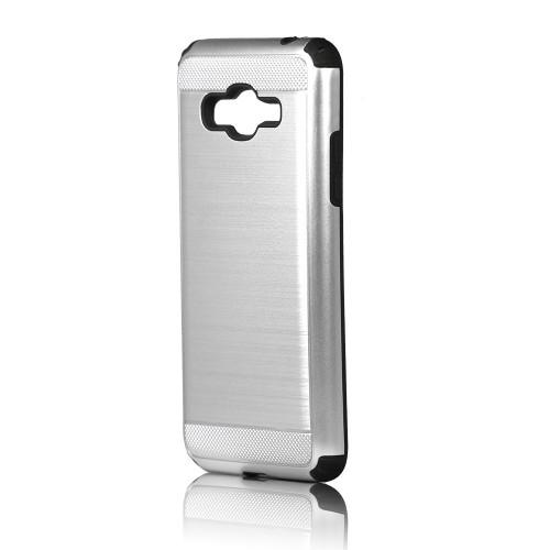 Hard Pod Hybrid Case for S8 Silver