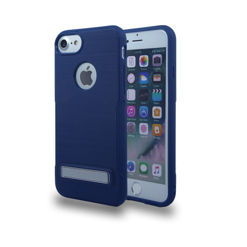 TPU with kickstand for iPhone 10 blue