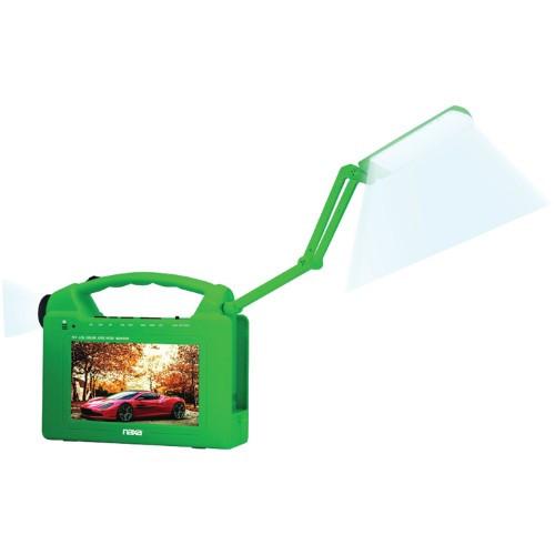 Naxa portable bluetooth Task Lamp with TV