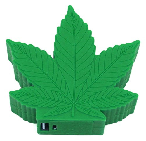 Emoji power bank green