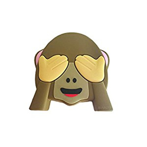 Emoji power bank monkey