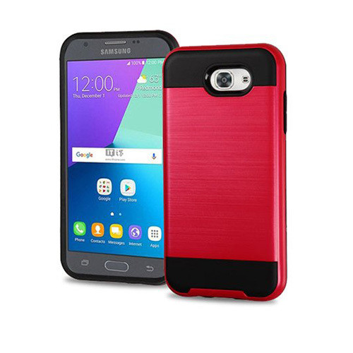 slim jacket hybrid case for LG K20 PLUS red-black
