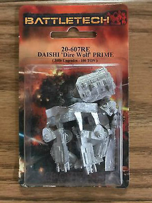 Battletech Daishi Mech Miniature 20-607RE Click for more Savings!