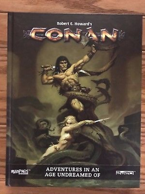 Conan RPG: Adventures in an Age Undreamed Of Hardcover