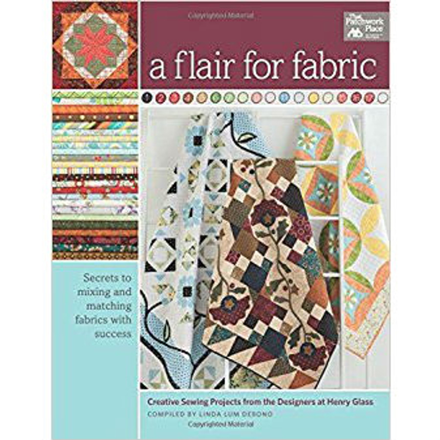 A Flair for Fabric by Henry Glass and Co.