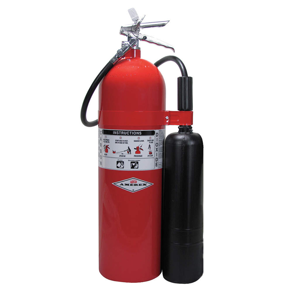 Amerex #AX331 15-lb. Carbon Dioxide Fire Extinguishers