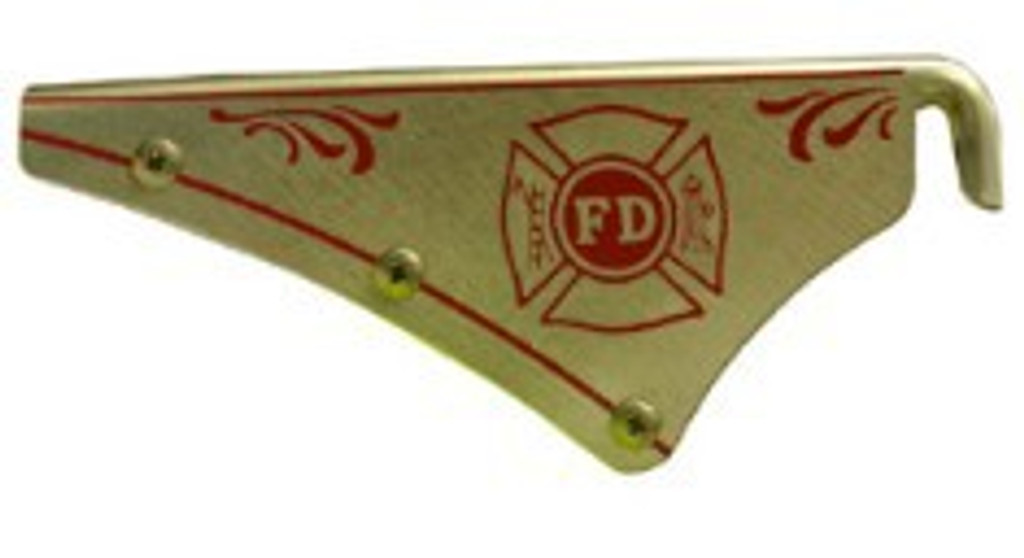 "Cairns New Style Brass ""Maltese Cross"" Front Holder. Includes Holes & Fasteners."