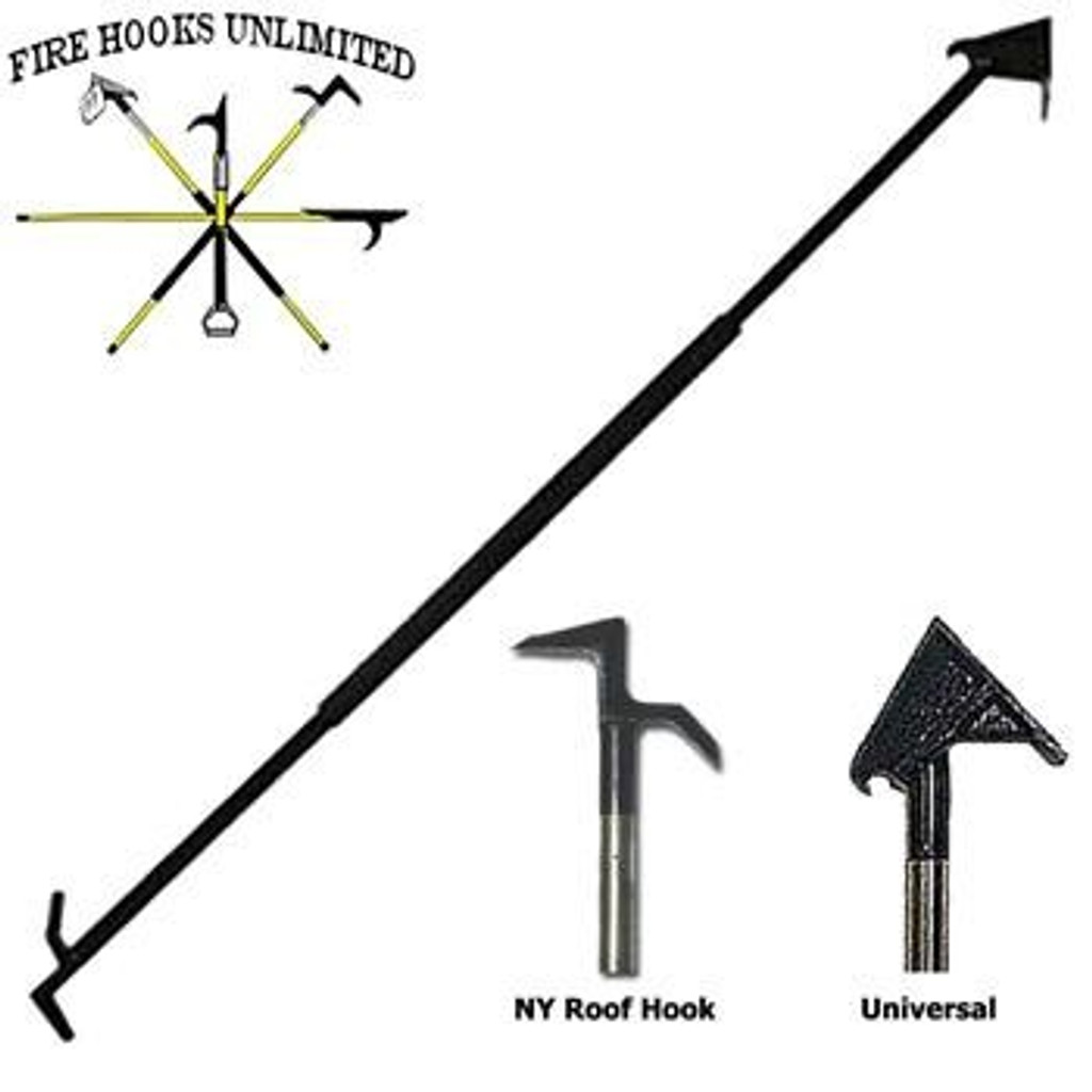 Fire Hooks Unlimited Georgia Hook (New York & Drywall Ends)