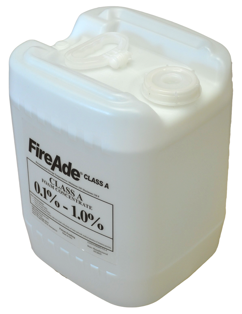 FireAde 2000 Class A Fire Suppression Agent - Available in 5 gallon pail, 55 gallon drum, or 250 & 330 gallon tote - CALL FOR PRICING