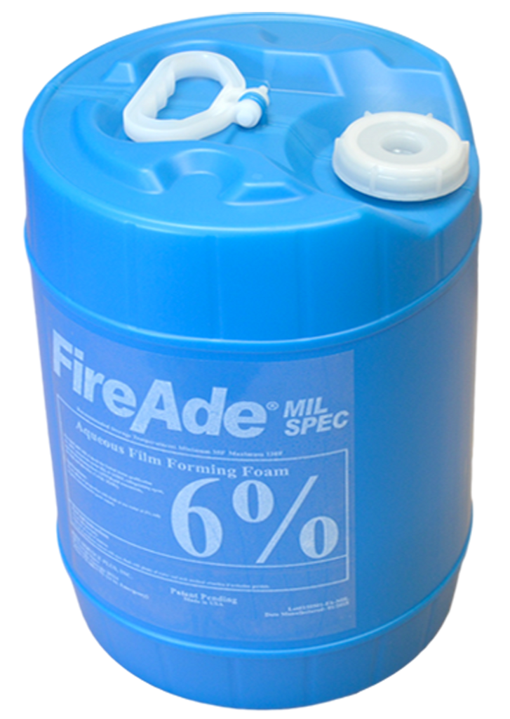 FireAde 2000 MIL Spec 6% Concentrate  - Available in 5 gallon pail, 55 gallon drum, or 250 & 330 gallon tote - CALL FOR PRICING