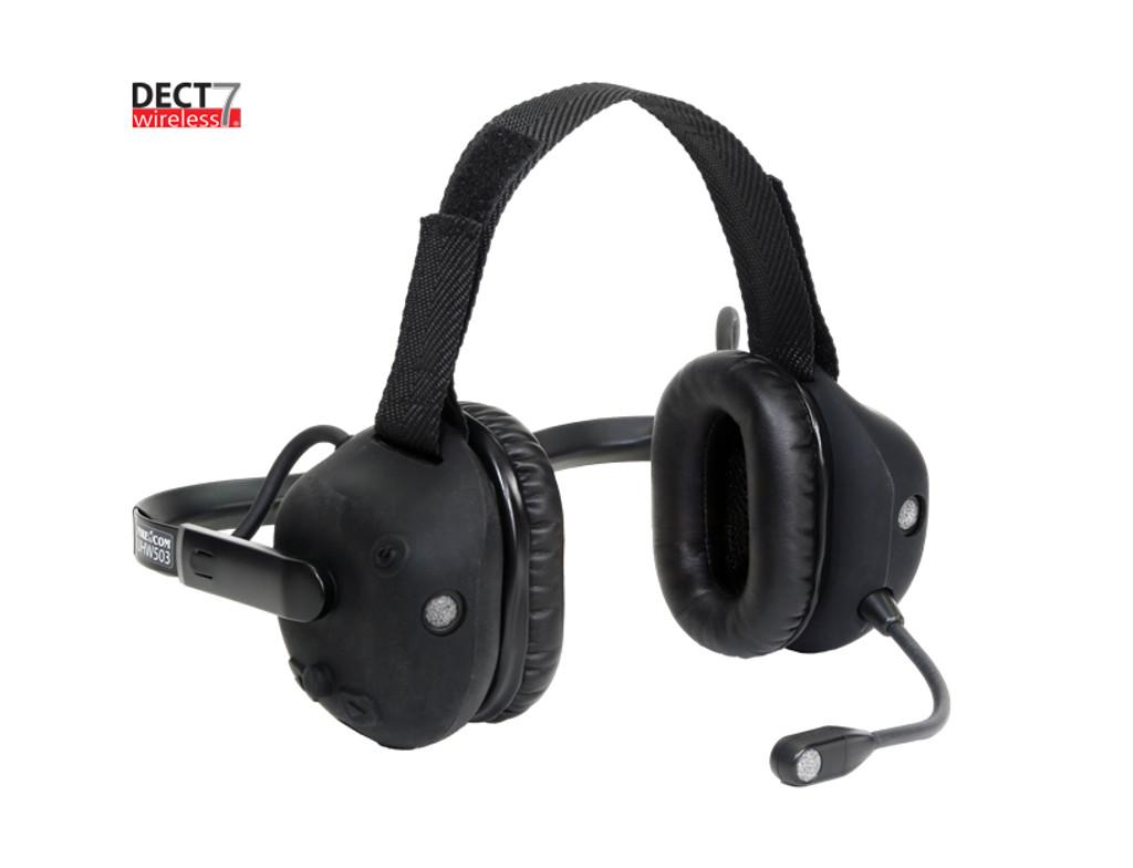 FireCom #UHW503 DECT7 Direct Wire Intercom Only Under Helmet Wireless Headset