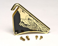 """Cairns #10049738 Silk Screened """"Eagle"""" Front Holder with Post & Screws"""