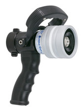 """TFT Legacy 1"""" Bubble Cup Nozzle with Pistol Grip - Dual Gallonage 10 and 24 GPM @ 100 PSI"""