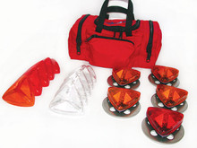 Priority 1 Life Safety #G65010 Flight Site Landing Zone Kit w/ Five (5) Xenon Strobes