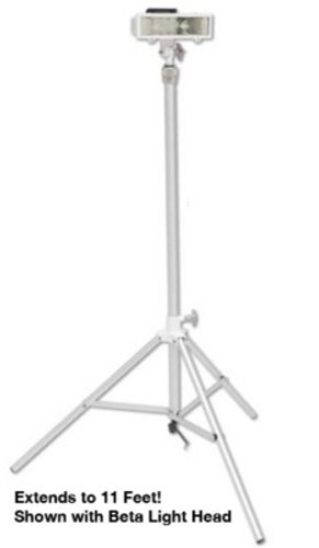 Akron Tri-POD Portable Light Pole System with AC Plug (LightHead Not Included)