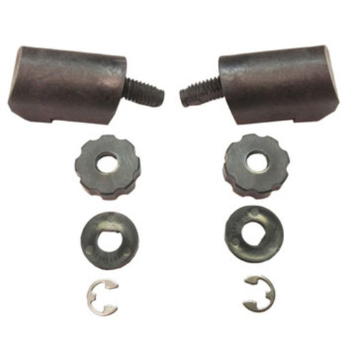 Cairns #S918P Helmet Hardware Kit - Hi-Pivot for Traditional Helmets
