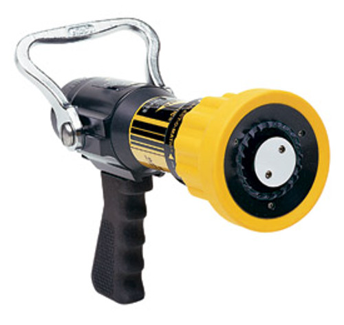 "Elkhart #SM-20FG 1.5"" Select O Matic Nozzle with Pistol Grip - 60-200 GPM @ 100 PSI"
