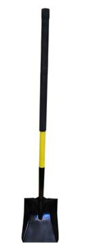 "Fire Hooks Unlimited 27"" Flat Shovel with D-Handle"