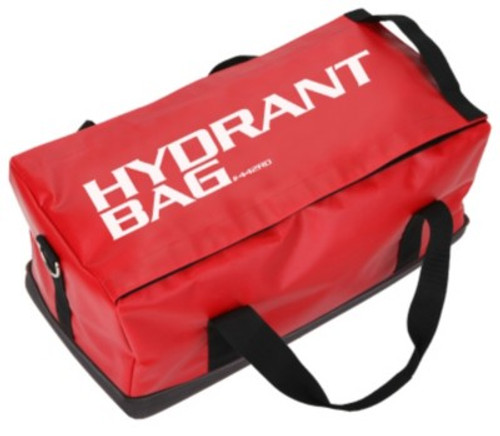 R&B Fabrications Vinyl Hydrant Bag with Tuff Bottom - Red