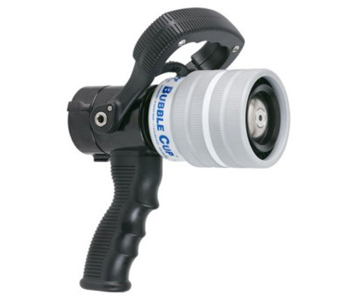 "TFT Legacy 1.5"" Bubble Cup Nozzle with Pistol Grip - Dual Gallonage 20 and 95 GPM @ 100 PSI"