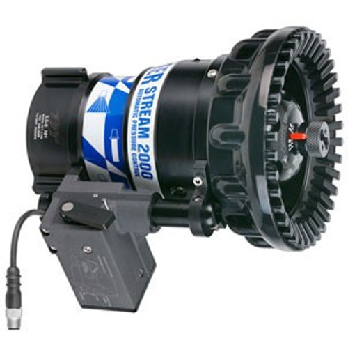 "TFT Legacy 3.5"" Master Stream 2000 Electric Remote Nozzle with Plug - 300-2000 GPM @ 100 PSI"