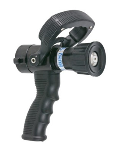"TFT Legacy 1"" Twister Dual Gallonage Nozzle with Pistol Grip - 10 & 40 GPM @ 100 PSI"