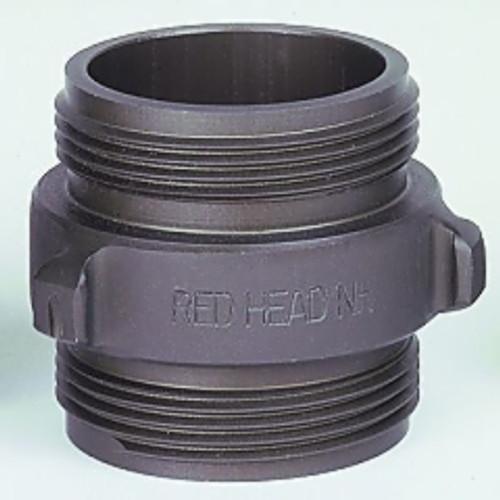 """Red Head 2.5"""" x 2.5"""" Double Male Rocker Lug Adapter"""
