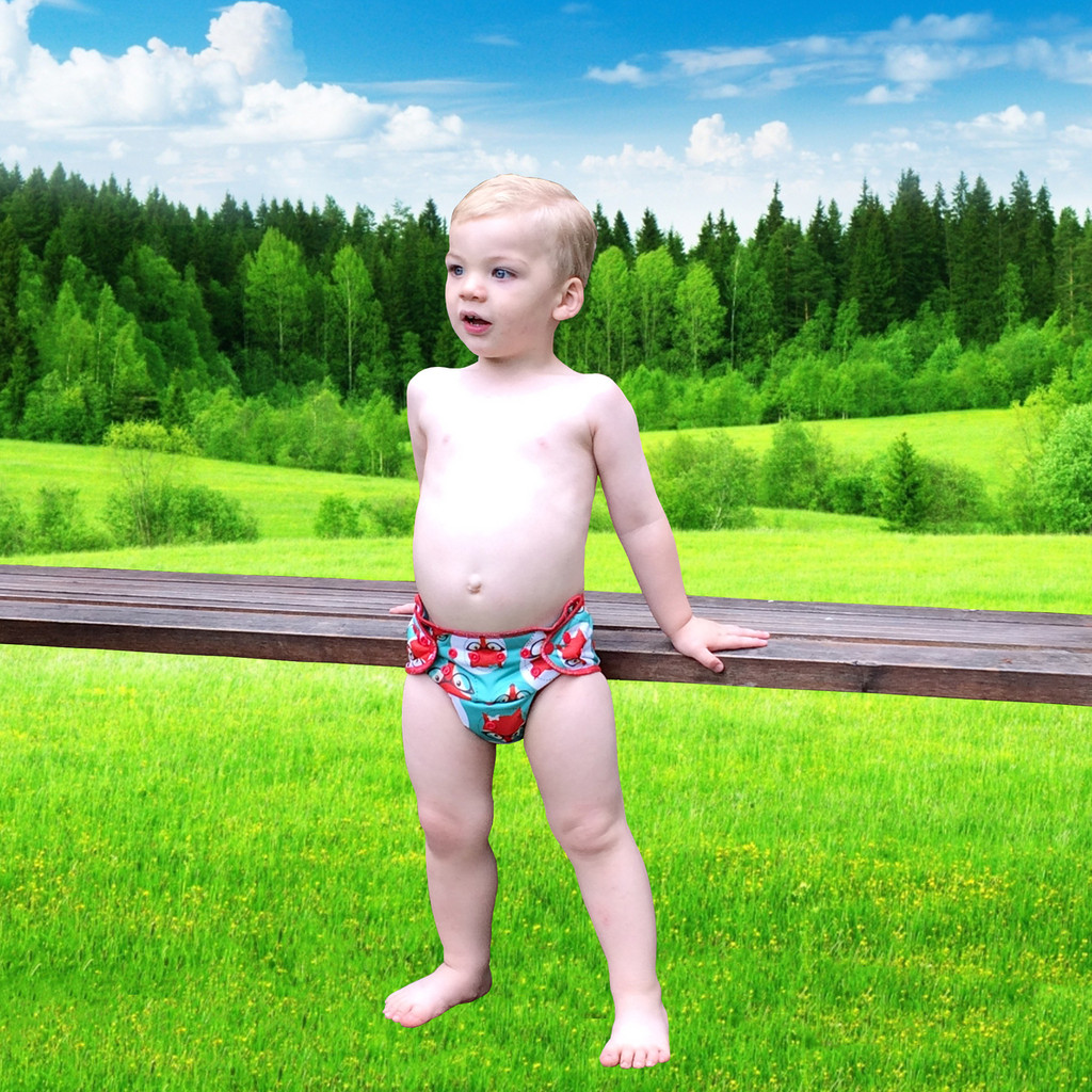 One Size All-In-Two Hybrid Cloth Diaper