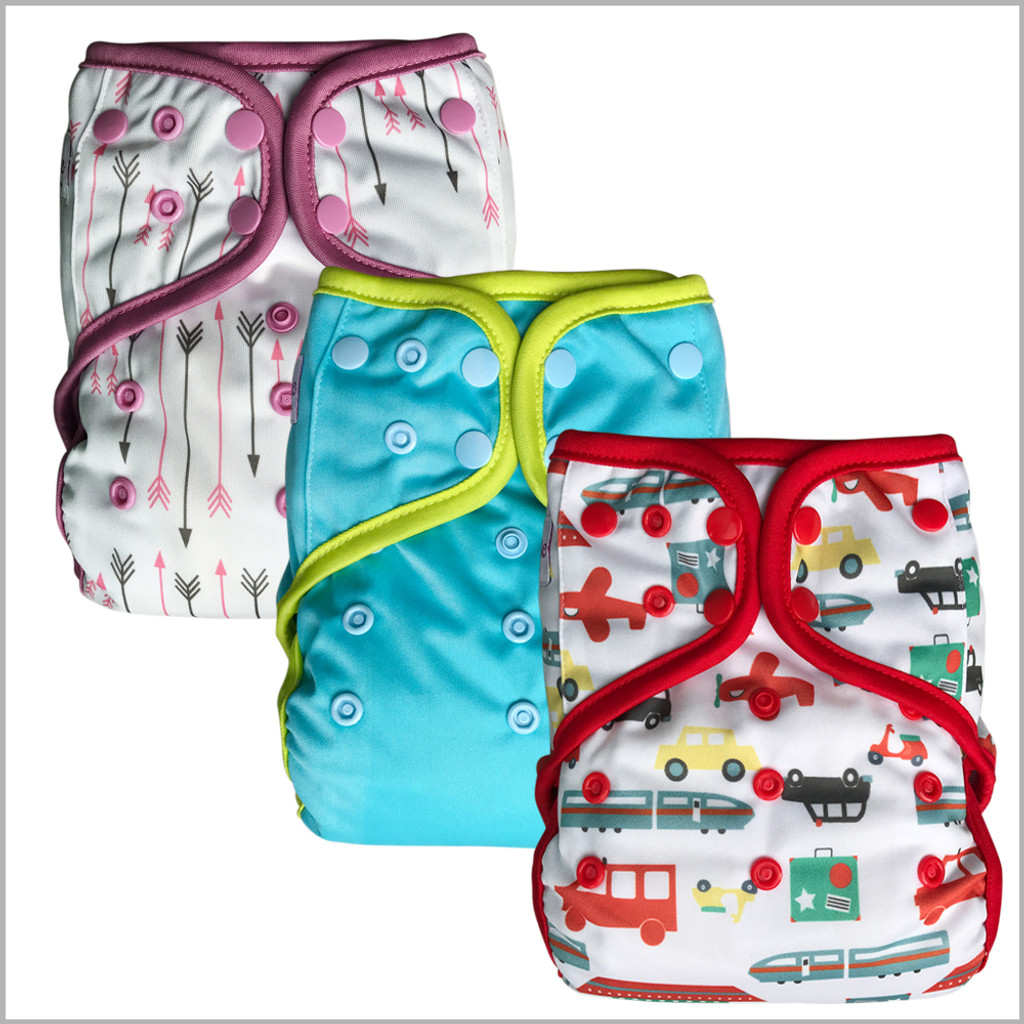 Day & Night All-in-One Cloth Diaper, One Size