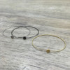 Wire Circle Bracelet