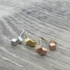 Double Cube Earring