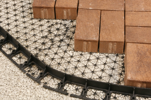 PermEdge Permeable Paver Edge Restraint - case of six 8' sections - includes shipping