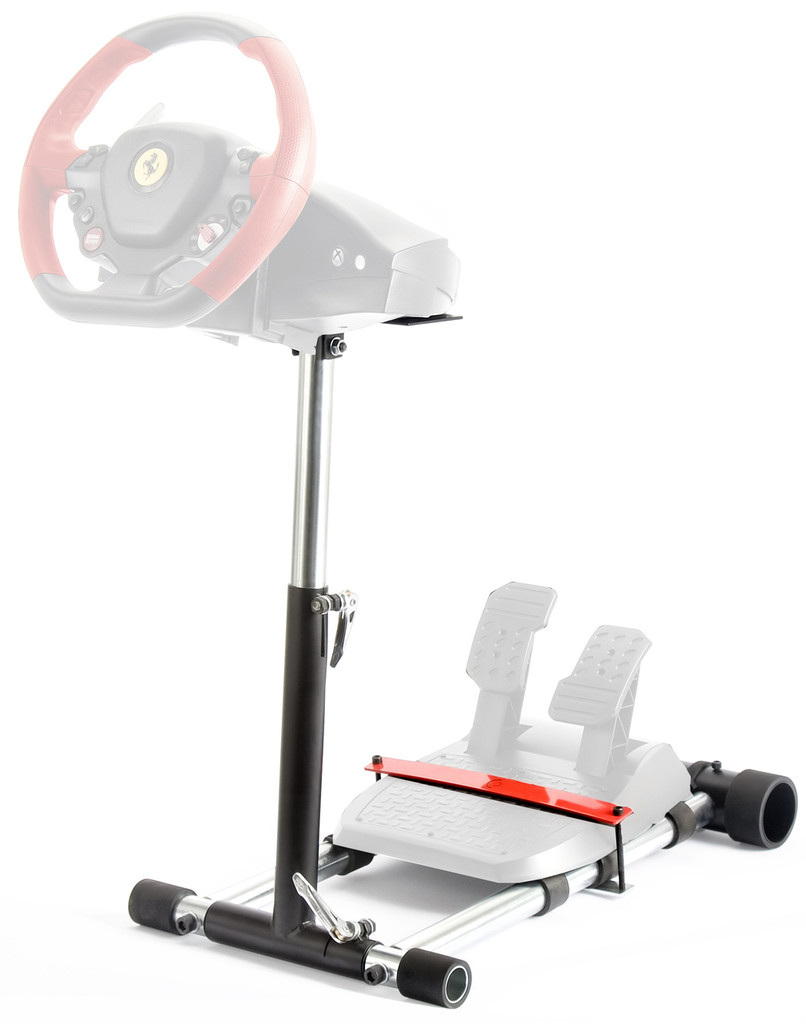 Wheel Stand Pro F458  Racing Steering Wheelstand Black for F458(XBOX 360), F458 Spider (Xbox One),T80, T100, RGT, Ferrari GT and F430 (Black) V2.  Wheel and Pedals not included.