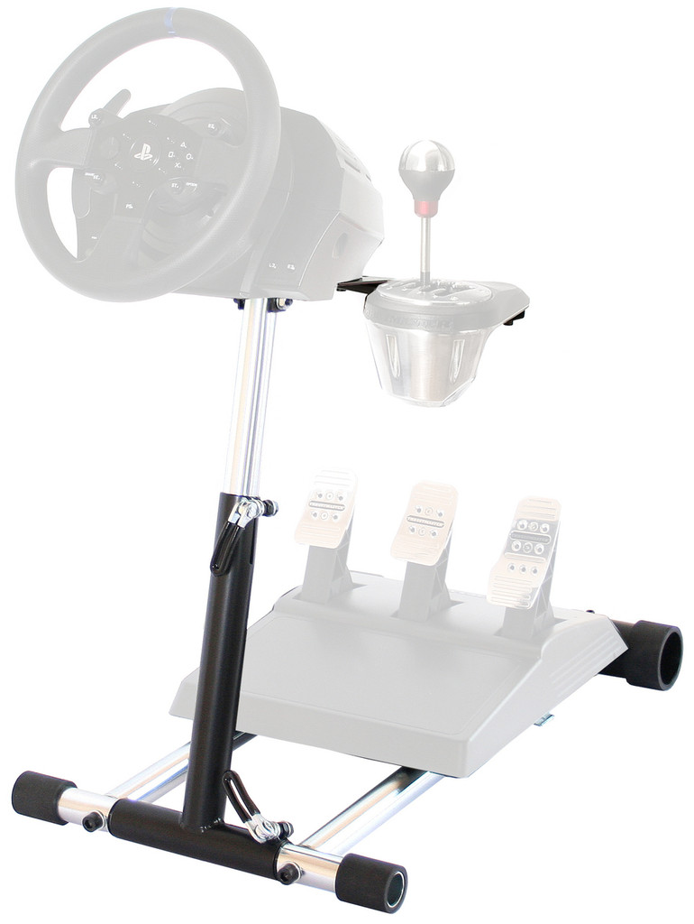 Wheel Stand Pro TX  Deluxe Racing Steering Wheelstand  For Thrustmaster T-GT, T500RS, T300RS(PS4), TX458 (XBox One) TX Leather, T150, TMX/TMX PRO! Deluxe V2 stand.| Wheel and Pedals not included.